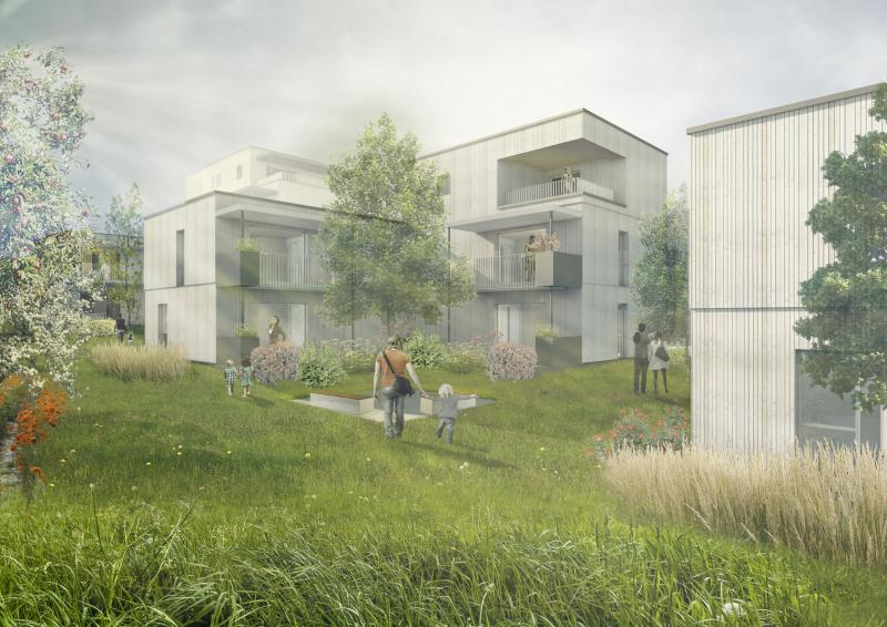 Wildgarten, Visualisierung: sps architekten